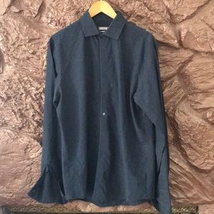 Kenneth Cole Slim Fit 16 34-35 Button Down Shirt